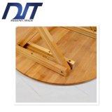 Напольный просто портативный прямоугольный вскользь Bamboo круглый стол