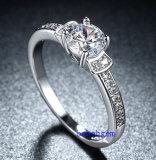 Heet verkoop de Ringen van het Messing van het Zirkoon van Juwelen (R0828)