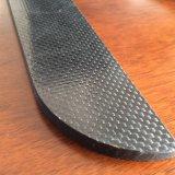 Pieza de fibra del carbón para los zapatos