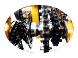 페달과 전기 Allu 의 Imum 화물 Trike