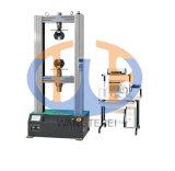 Máquina universal de ensayos de control de computadora electrónica de plástico