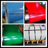 Bobina de aço galvanizada Prepainted e aço de PPGI