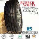 Hand-LKW-Reifen-Laufkatze-Reifen-pneumatischer Eber-Gummirad-Gummireifen 3.50-4