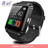 La pantalla táctil caliente de la venta 2016 U8 Smartwatch con respuesta y marca el metro de la altitud de la fotografía de Bluetooth del teléfono