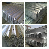 Cer Certificate Hot DIP Galvanized Highway Guardrail für Road Safety