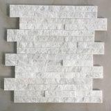 steen van de Cultuur van de Steen van het Kwartsiet van 10*40cm de Witte Slanke