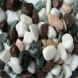 中国のよい価格の磨かれる自然な小石の石