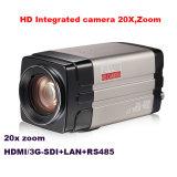 20X 광학적인 급상승 렌즈 1080P 영상 회의 사진기
