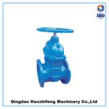 Válvula de porta industrial de aço inoxidável