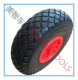 Fabrik-Preis 3.00-4 PU-Schaumgummi-Reifen-Hilfsmittel-Karren-Rad