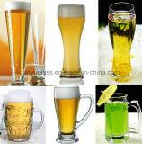 Чашка большой емкости & кружки пива качества стеклянная с различным типом