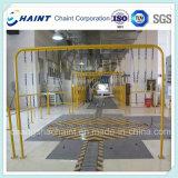 Lamellenbahn für Papierrollen mit V Slat