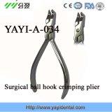 Плоскогубцы ортодонтического Плоскогубц-Хирургического крюка шарика гофрируя (YAYI-034)