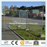 Австралия использовала гальванизированную спортивной площадкой загородку загородки временно