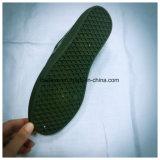 Обувь PVC зеленого цвета военной подготовки плоская