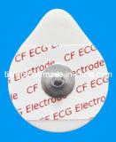 Wegwerf-ECG Überwachung-Elektrode, PET Schaumgummi-Schutzträger, 30*36mm