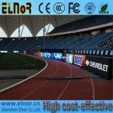 Tela Fullcolor do diodo emissor de luz do esporte do perímetro do futebol P10 ao ar livre