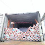 Material do PVC e revestimento interno do uso