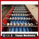 Cadena de producción de acero de la hoja de la azotea del hierro del metal del color