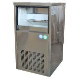 máquina de hielo del cubo de la cubierta del acero inoxidable 35kgs