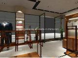 Metallbildschirmanzeige-Zahnstangen für Mann-Kleid-Speicher-Innenarchitektur