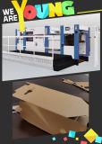 Automatische stempelschneidene Maschine mit dem Entfernen der Funtion Papppapier-Ausschnitt-Maschine