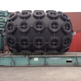 Qingdao Made Floating Yokohama type Cylindrical Marine Fiber Fender for Dock