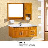 Тщеты ванной комнаты твердой древесины фабрики установленные стеной