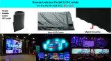 Galaxias P12.5mm flexibler LED Innenbildschirm des Vorhang-LED für Ereignisse, Erscheinen, DJ-Studio