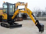 Sany Sy16c 1.6 tonne d'excavatrice de creusement de petit trou de fossé