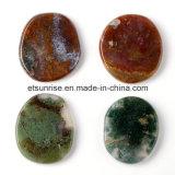 Muestra de talla de piedra de la suposición semi preciosa de la piedra preciosa