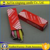 Weiß-tägliche Kerze mit Kerze 6pcsx25bags