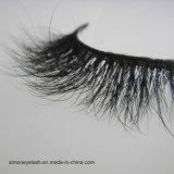 Ресницы оптовых волос норки 3D ложные вполне обнажают плетки