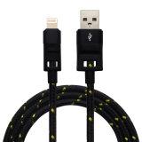 für iPhone Kabel USB-Aufladeeinheit und Daten-Synchronisierungs-Kabel