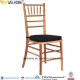 Cadeira Stackable de madeira barata de Chiavair para o casamento