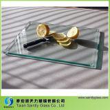 Panneau Tempered de taille du verre de flotteur en verre d'espace libre de vente en gros claire de couleur