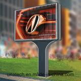 Напольная солнечная афиша светлой коробки плаката знака Поляк мега СИД