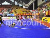 Plástico que enclavija liga del campeonato del suelo de Futsal