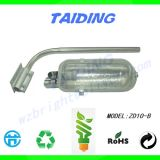 CFL Manija de acero inoxidable Tipo de ahorro de energía Iluminación de carreteras Zd10-B Lámparas para carreteras y urbanas