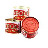 La salsa de tomate concentrada doble de la marca de fábrica de Vego adentro puede