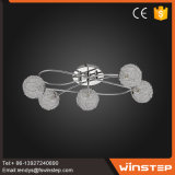 Luz do pendente do teto da máscara de lâmpada da rede de fiação de G9 Alu