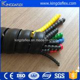 Protectores plásticos espirales materiales del manguito de los PP