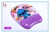 Коврик для мыши нового шаржа милый с холодной пусковой площадкой запястья руки подушки