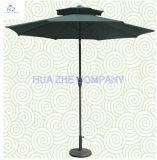 10FT 두 배 지붕 옥외 양산 정원 우산
