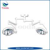 Tipo principal doble lámpara quirúrgica Shadowless del techo