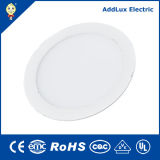 18W rotondo Ultra Thin SMD Warm White LED Panel Light