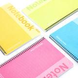Cuaderno del ejercicio del cuaderno/del estudiante de la escuela/cuaderno espiral B5 del papel