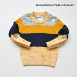 Pullover-Strickjacke der stattlichen gestrickten Jungen