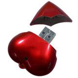 プラスチックUSB3.0フラッシュ駆動機構のThumbdriveの中心の形USB Pendrive