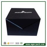 Caixa de relógio de papel preta projetada especial para a venda